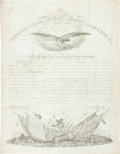 Autographs:U.S. Presidents, James K. Polk Military Appointment Signed....