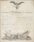 Autographs:U.S. Presidents, James Madison Military Appointment Signed....