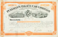 Autographs:Inventors, George M. Pullman Stock Certificate Signed...