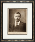 Autographs:U.S. Presidents, Theodore Roosevelt Photograph Inscribed and Signed...