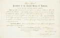 Autographs:U.S. Presidents, Ulysses S. Grant Appointment Signed...