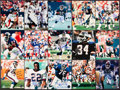 Football Collectibles:Photos, New York Giants Signed Photographs Lot of 26....