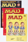 Magazines:Mad, Mad #36-40 Group (EC, 1957-58) Condition: Average FN/VF.... (Total: 5 Comic Books)
