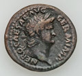 Ancients:Roman Imperial, Ancients: Nero (AD 54-68). Æ as (11.38 gm)....