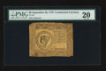 Colonial Notes:Continental Congress Issues, Continental Currency September 26, 1778 $8 PMG Very Fine 20.. ...