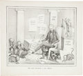 Political:Small Paper (pre-1896), Andrew Jackson: Federal Patronage Cartoon....