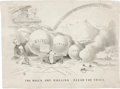 Political:Small Paper (pre-1896), John C. Fremont: Outstanding 1856 Cartoon....