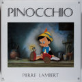 Books:Art & Architecture, [Walt Disney Studios]. SIGNED. Pierre Lambert. Pinocchio.New York: Hyperion, [1997]. First American edition. Sign...
