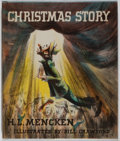 Books:Fiction, H. L. Mencken. SIGNED. Christmas Story. New York: Knopf,1946. First edition. Signed by Mencken on the title-p...