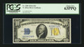 Small Size:World War II Emergency Notes, Fr. 2309 $10 1934A North Africa Silver Certificate. PCGS Choice New 63PPQ.. ...