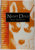 Books:Mystery & Detective Fiction, Kent Anderson. SIGNED. Night Dogs. McMillan: 1996. Firstedition, first printing. Signed by the author. Fine....