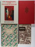 Books:Books about Books, [Books About Books]. Group of Four Books Related to Bookbinding. Various, 1925-1986. Various editions. Bookbinding is ex... (Total: 4 Items)