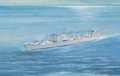 Mainstream Illustration, AMERICAN ARTIST (20th Century). Navy Battleships (3).Gouache and watercolor on board. 20.5 x 30 in. (largest). Notsign... (Total: 3 Items)