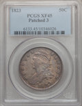 Bust Half Dollars: , 1823 50C Patched 3 XF45 PCGS. PCGS Population (12/41). NGC Census:(2/31). Numismedia Wsl. Price for problem free NGC/PCGS...