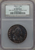Early Half Dollars, 1806 50C 6 Over Inverted 6 -- Improperly Cleaned, Obverse Scratched-- NCS. XF Details. O-111A. PCGS Po...
