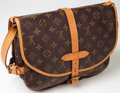 Luxury Accessories:Bags, Heritage Vintage: Louis Vuitton Classic Monogram Saumur MessengerBag. ...
