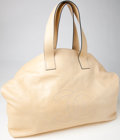 Luxury Accessories:Bags, Heritage Vintage: Chanel XL Pale Yellow Lambskin Leather Hobo. ...