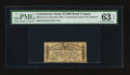 Confederate Notes:Group Lots, $1000 Confederate Bond Coupon PMG Choice Uncirculated 63 EPQ.. ...