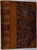 Books:Fine Bindings & Library Sets, Francis H. Underwood. A Hand-Book of English Literature: American Authors. Lee and Shepard, 1873. Gift inscription. ...