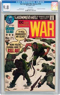 Star Spangled War Stories #155 (DC, 1971) CGC NM/MT 9.8 White pages