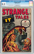 Silver Age (1956-1969):Horror, Strange Tales #82 (Marvel, 1961) CGC VF+ 8.5 Off-white to whitepages....