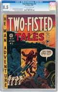 Golden Age (1938-1955):War, Two-Fisted Tales #22 (EC, 1951) CGC VF+ 8.5 Off-white to whitepages....