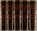 Books:Fine Bindings & Library Sets, John Knowles [editor]. The Nineteenth Century: A Monthly Review. Vol. I, II, IV, V, VII. 1877-1880. Contemporary... (Total: 5 Items)