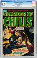 Golden Age (1938-1955):Horror, Chamber of Chills #5 (Harvey, 1952) CGC VF+ 8.5 Cream to off-whitepages....