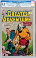 Silver Age (1956-1969):Science Fiction, My Greatest Adventure #34 (DC, 1959) CGC NM- 9.2 White pages....