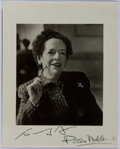 Autographs:Authors, Faith Baldwin (1893-1978, American Writer). Small Signed andInscribed Photo. Very good....