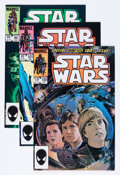 Modern Age (1980-Present):Science Fiction, Star Wars Group (Marvel, 1984-86) Condition: Average NM-....(Total: 26 Comic Books)
