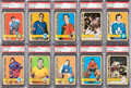 Hockey Cards:Lots, 1972 Topps Hockey PSA Gem MT 10 Collection (21)....