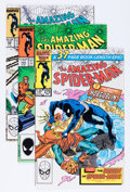 Modern Age (1980-Present):Superhero, The Amazing Spider-Man Group (Marvel, 1985-89) Condition: AverageNM-.... (Total: 26 Comic Books)