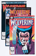 Modern Age (1980-Present):Superhero, Wolverine Group (Marvel, 1982-88) Condition: Average NM-....(Total: 7 Comic Books)