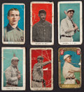 "Baseball Cards:Lots, 1910's T205 Gold Border, E90-2 American Caramel and E98 ""Set of 30"" Group (6)...."