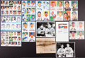 Autographs:Photos, Baseball Greats Multi Signed Photos Lot Of 13 (Over 70 Signatures!)...