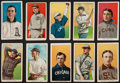 Baseball Cards:Lots, 1909-11 T206 Baseball Collection (10) With Tolstoi Backs. ...