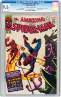 Silver Age (1956-1969):Superhero, The Amazing Spider-Man #21 (Marvel, 1965) CGC NM+ 9.6 Off-white towhite pages....