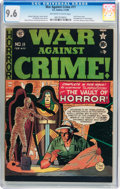 Golden Age (1938-1955):Crime, War Against Crime #11 (EC, 1950) CGC NM+ 9.6 Off-white to white pages....