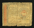 Colonial Notes:Continental Congress Issues, Continental Currency January 14, 1779 $65 Very Good.. ...