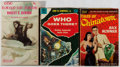 Books:Horror & Supernatural, [Genre Fiction]. Three Mass Market Paperback Titles, including: Sax Rohmer. Tales of Chinatown [and]: John W. ... (Total: 3 Items)