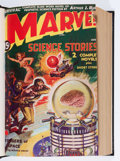 Pulps:Science Fiction, Marvel Science Stories Bound Volumes (Red Circle, 1938-52)....(Total: 4 Items)