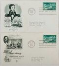 Books:Americana & American History, [First Day Covers]. Group of Two Related to Commodore Perry. 1953.Fine. A first day cover is a stamped envelope or card whi...