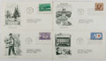 Books:Americana & American History, [First Day Covers]. Group of Four Related to Various AmericanSubjects. 1952-1953. Fine. A first day cover is a stamped enve...