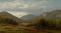 Fine Art - Painting, American:Antique  (Pre 1900), CHARLES W. KNAPP (American, 1823-1900). Catskill Vista . Oilon canvas. 20 x 36 inches (50.8 x 91.4 cm). Signed lower le...