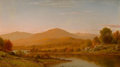 Fine Art - Painting, American:Antique  (Pre 1900), CHARLES W. KNAPP (American, 1823-1900). The White Mountains. Oil on canvas. 24 x 42 inches (61.0 x 106.7 cm). Signed lo...
