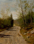 Paintings, BURR H. NICHOLLS (American, 1848-1915). Rabbit Hill. Oil on canvas laid on board. 26 x 20 inches (66.0 x 50.8 cm). Signe...