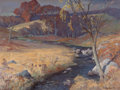 Fine Art - Painting, American:Modern  (1900 1949)  , ALBERT SHELDON PENNOYER (American, 1888-1957). Bantam River,Connecticut. Oil on canvas. 36 x 45 inches (91.4 x 114.3 cm...