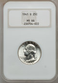 Washington Quarters: , 1941-S 25C MS66 NGC. NGC Census: (365/78). PCGS Population(307/35). Mintage: 16,080,000. Numismedia Wsl. Price for problem...