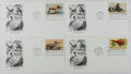 Books:Americana & American History, [First Day Covers]. Group of Four Related to Wildlife Conservation.1972. Fine. A first day cover is a stamped envelope or c...